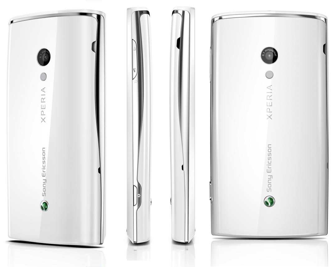 Sony Ericsson Xperia X10 White